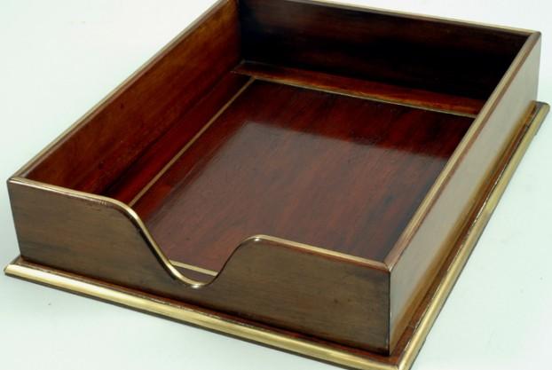 English Antique Desk Tray