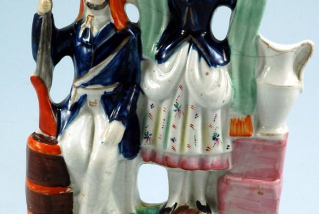 Staffordshire Pottery Figure – Highland Jessie