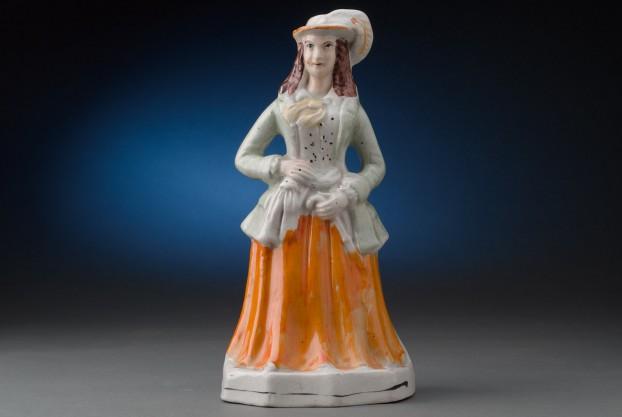 Staffordshire Theatrical Figure of Diana Vernon