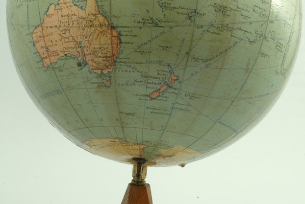 Antique 12″ Terrestrial Globe
