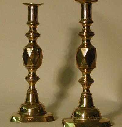 Vintage Brass Candlesticks 78