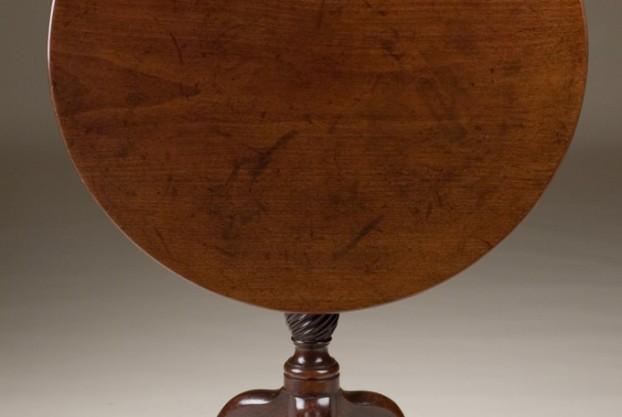 Plain Edge Tripod Table