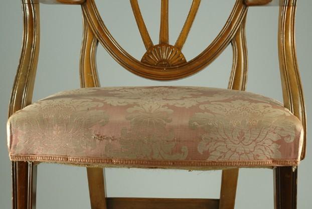 English Antique Hepplewhite Armchair