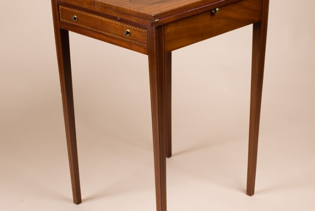 Antique Fold Top Card Table