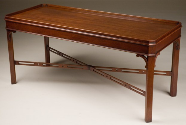 Chamfered Corner Coffee Table