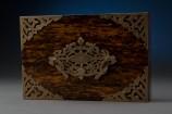 Top Brasses of Rosewood Keepsake Box