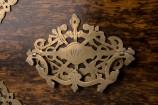Brass Handle on Rosewood Keepsake Box
