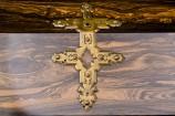 Brass Strap Work on Betjemann & Sons Writing Slope