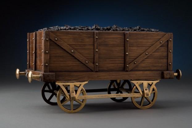 Coal Car Shaped Smoking Box