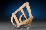 Caliper Shaped Brass Trivet