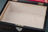 Rosewood Sewing Box Interior