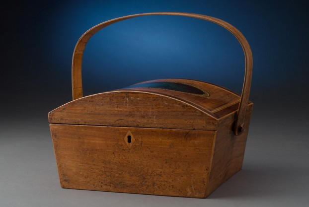 Mahogany Dome Top Work Box