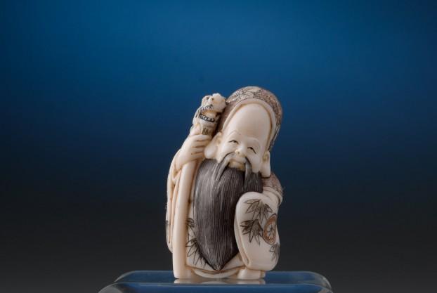 Ivory Figure of Longevity