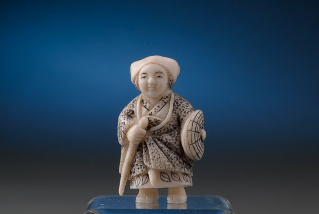 Netsuke Warrior Figure