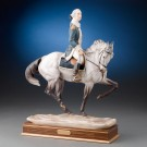 Royal Worcester Equestrian Figure George Washington