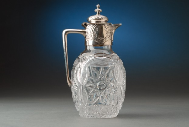 Cut Crystal Claret Jug