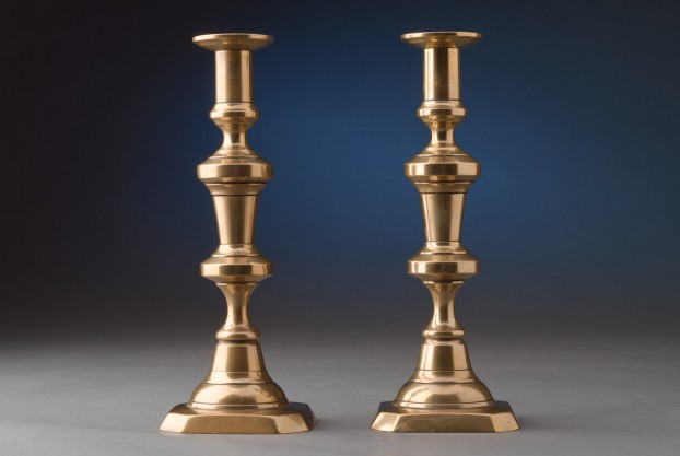 "9½"" Cut Corner Based Candlesticks"