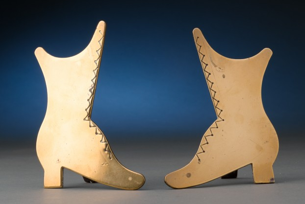 19th Century Brass Boots