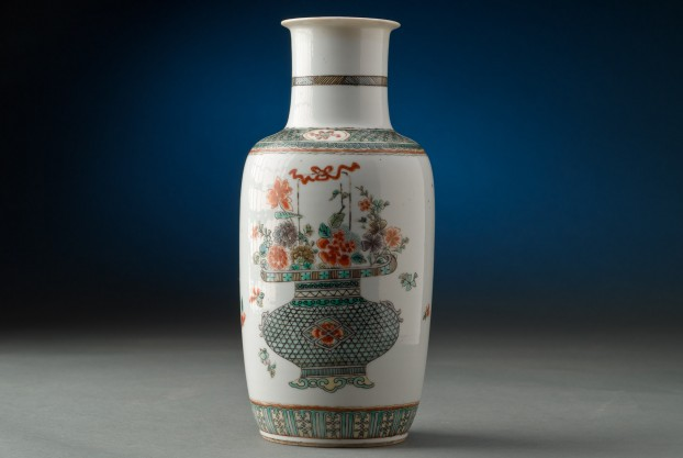 Vase In K'ang-hsi Design