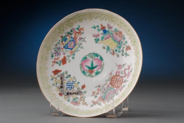 Oriental Dessert Plate
