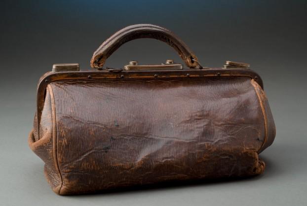 Leather Gladstone Bag
