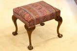 Mid 19th Century English Walnut Stool