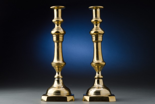 14″ Brass Candlesticks