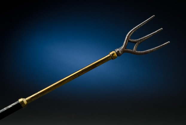 English Brass Telescopic Toasting Fork