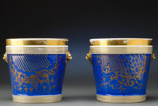 Pair of French Cachepots