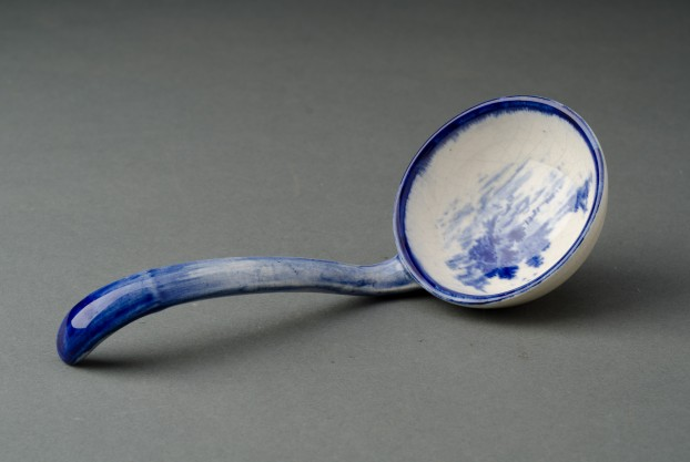 Blue & White Ladle
