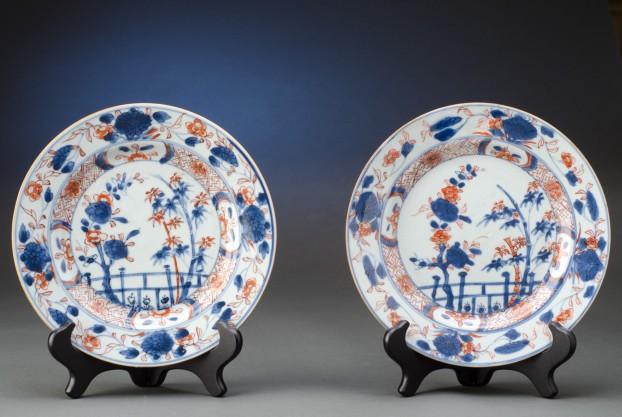 Eighteenth Century Imari Plates