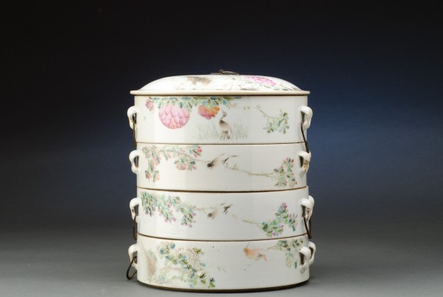 Oriental Section Boxes with Lid