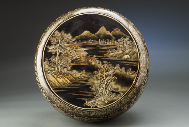 Decorated Chinese Plate Box