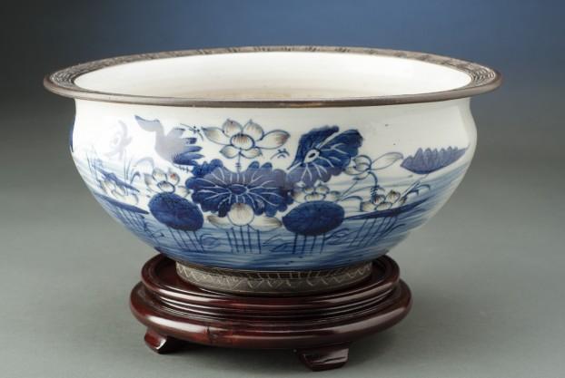 Chinese Incense Bowl
