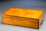Satinwood Writing Box