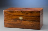 Rosewood Humidor with Brass Plate