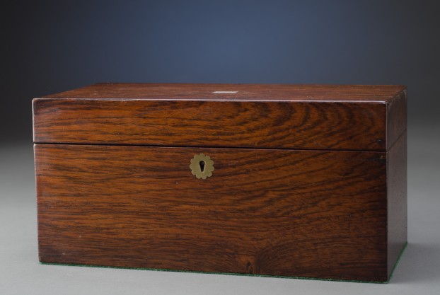 Engraved Rosewood Box