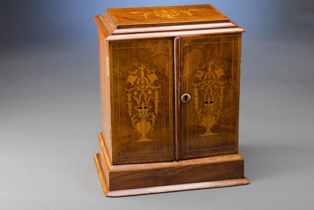 Walnut Chest Cabinet