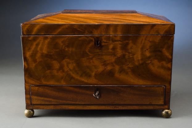 Sarcophagus Shaped Box