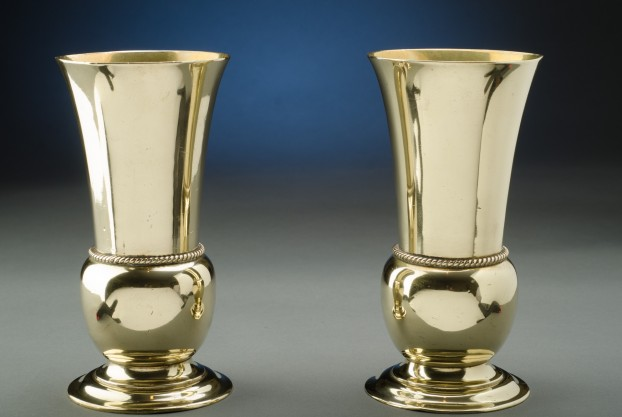 English Brass Vases