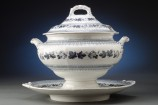 Ironstone Tureen with Lid and Platter