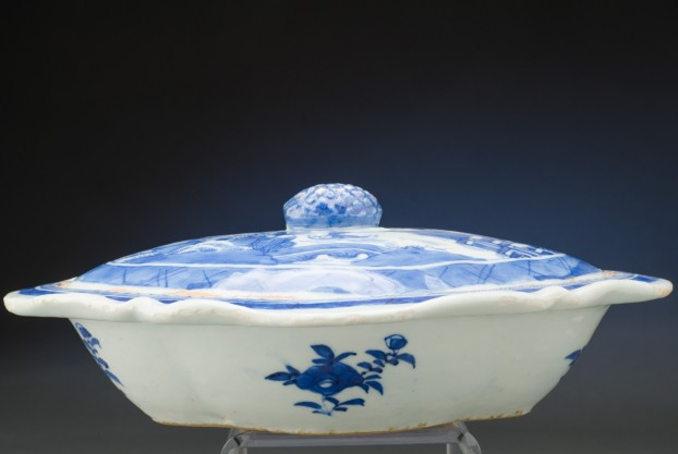 Blue & White Chinese Export Dish