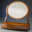 Beveled Glass Dressing Mirror