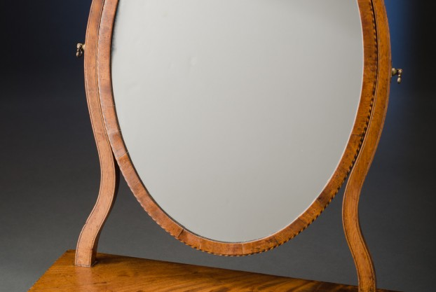 Serpentine Dressing Mirror
