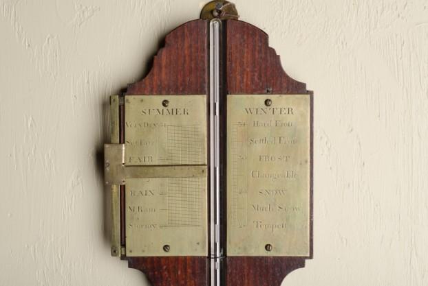 George III Stick Barometer