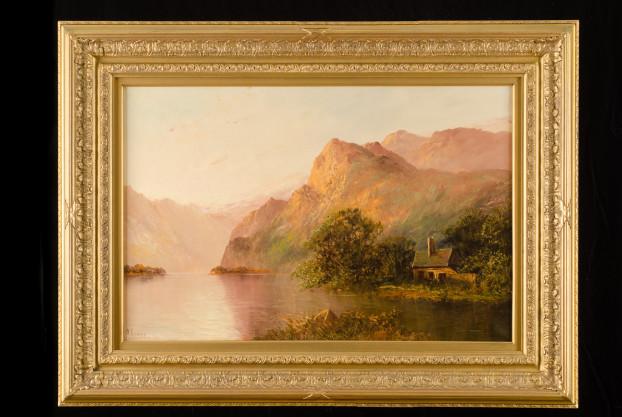 Highland Scene by A. Ramus