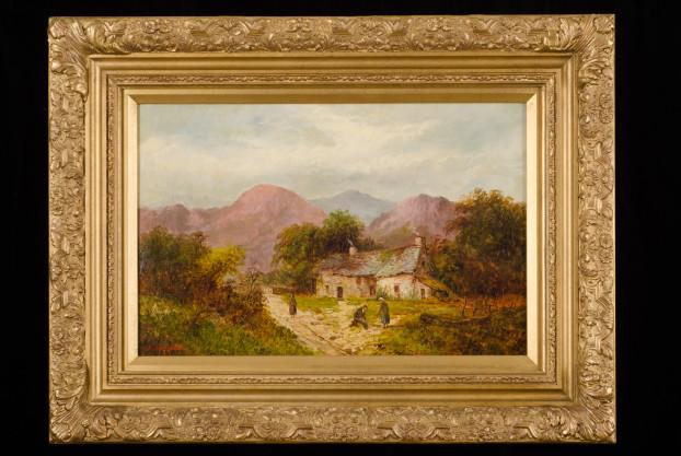Cottage Landscape by M. Jacobi