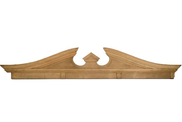 Oak Pediment