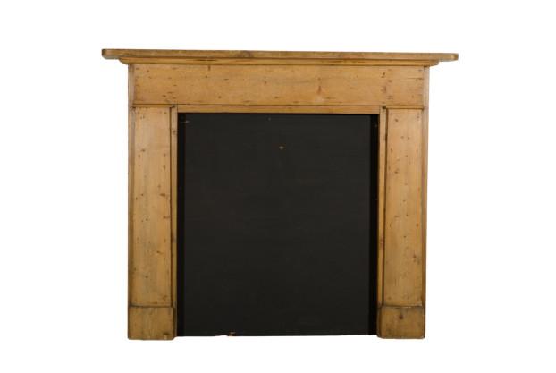 Pine Fireplace Mantel