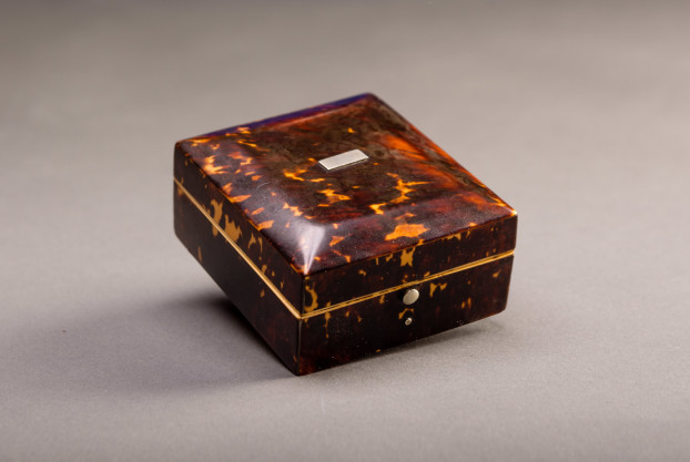 Tortoise & Ivory Watch Box